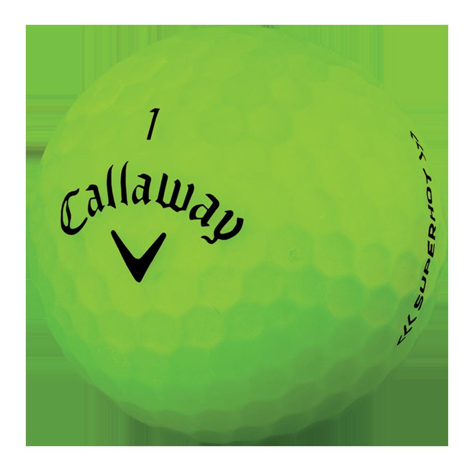 2018 Superhot Bold Matte Green 15-Pack Golf Balls - View 4