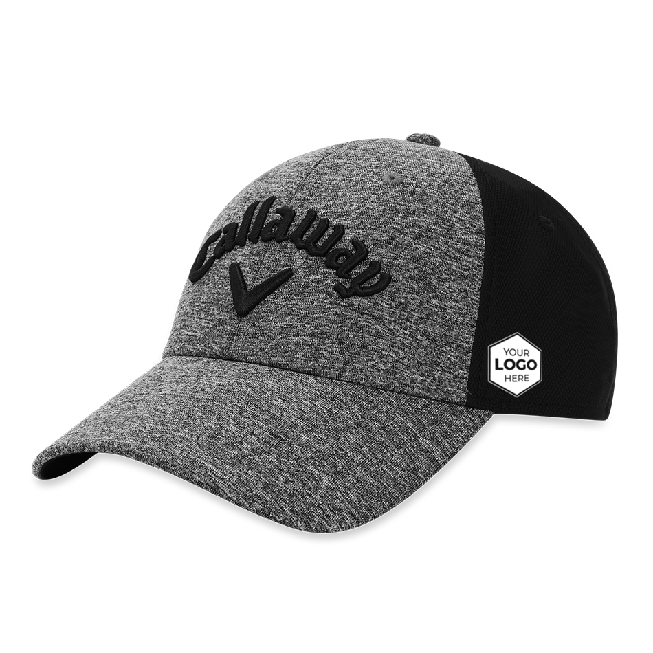 Women's Heathered Logo Cap - Featured