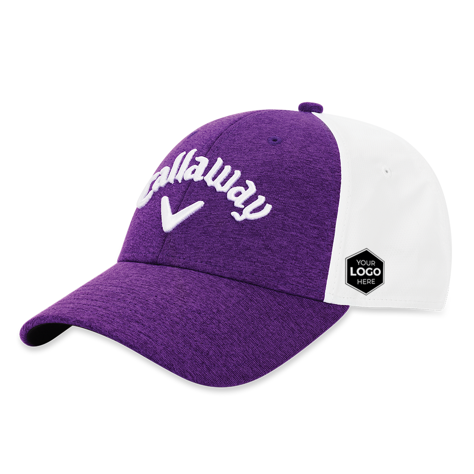Women's Heathered Logo Cap - View 1