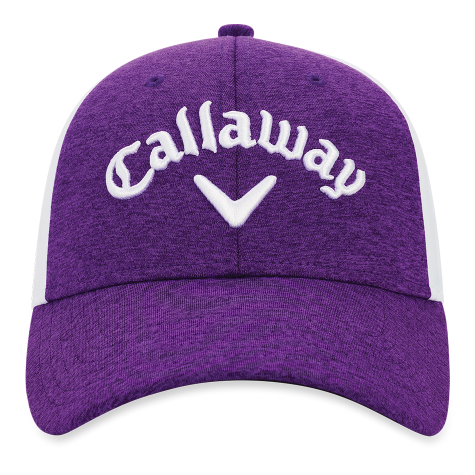 Women's Heathered Logo Cap - View 3