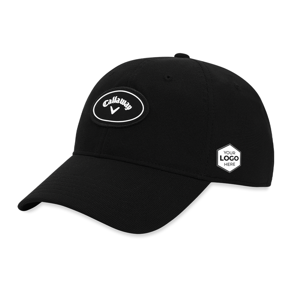 Stretch Fitted Logo Cap - Featured