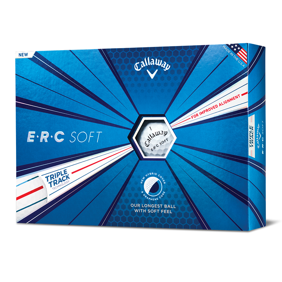 ERC Soft Logo Golf Balls - View 1