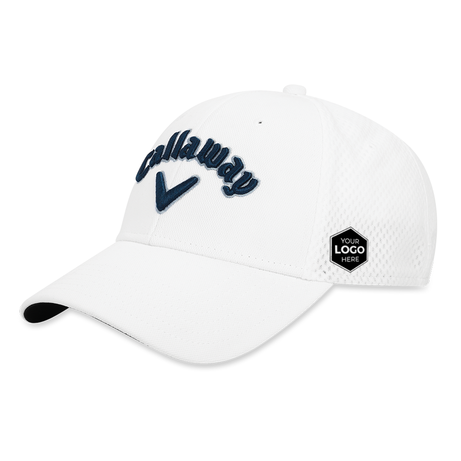 Mesh Fitted Logo Cap - View 1