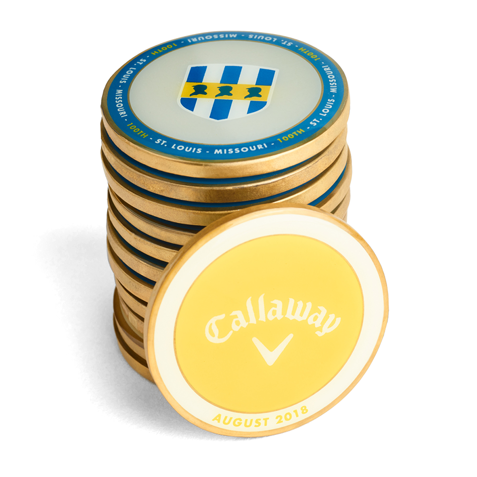Callaway 2018 August Major Medallion - View 3