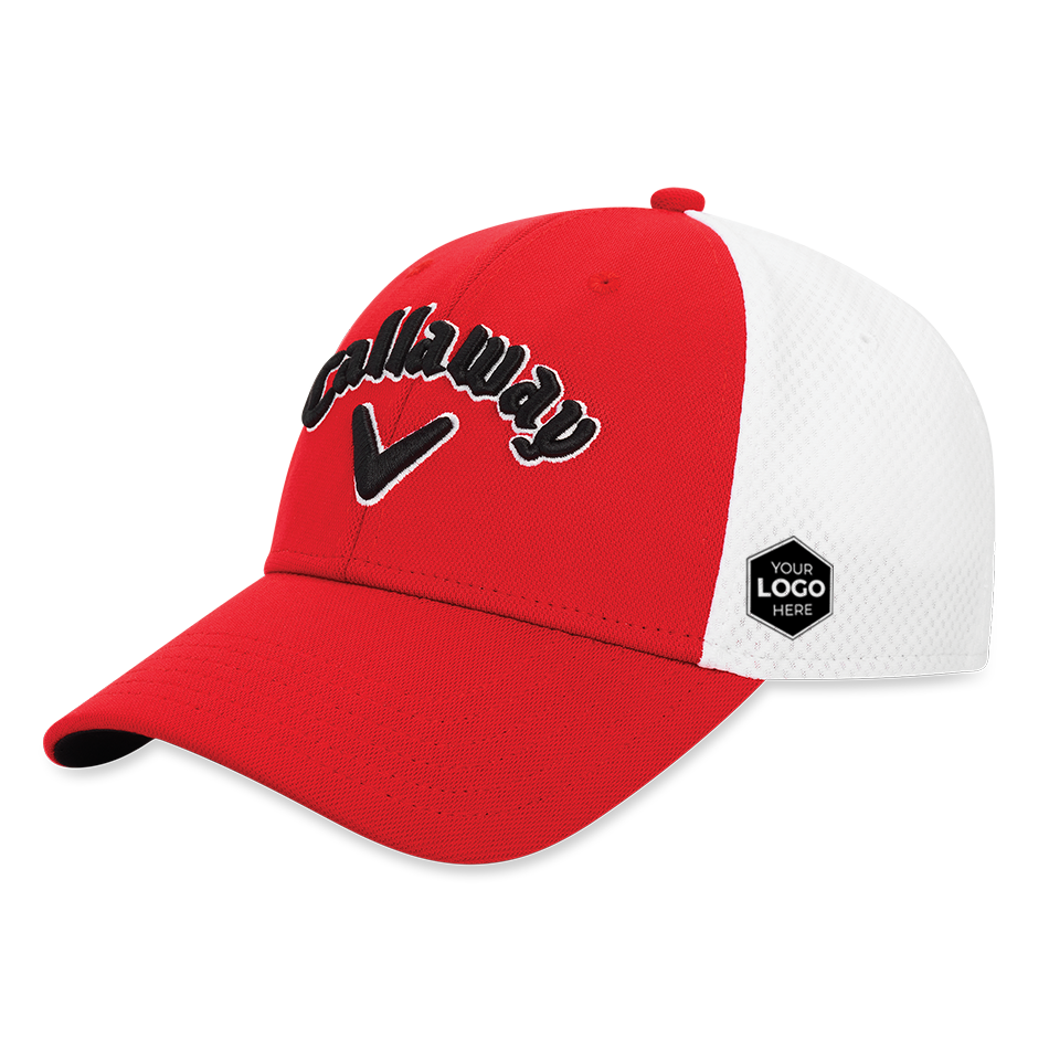 Mesh Fitted Logo Cap - Featured