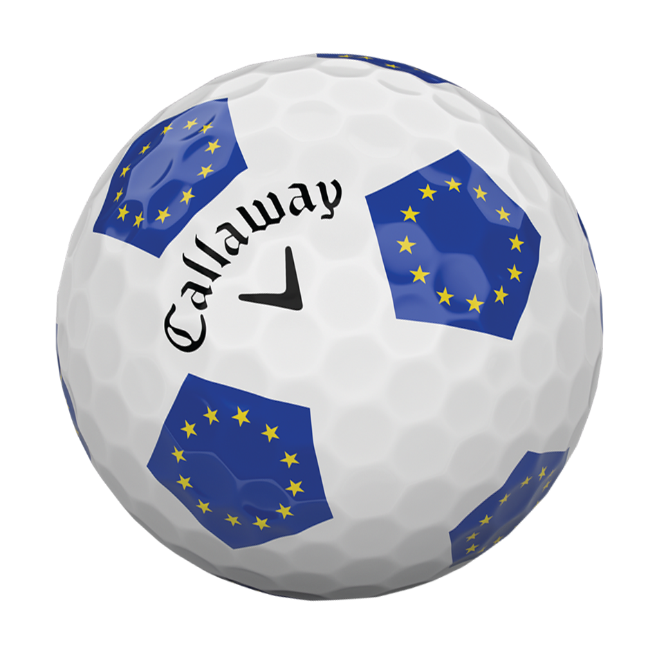 Chrome Soft European Truvis 18 Golf Balls - View 4