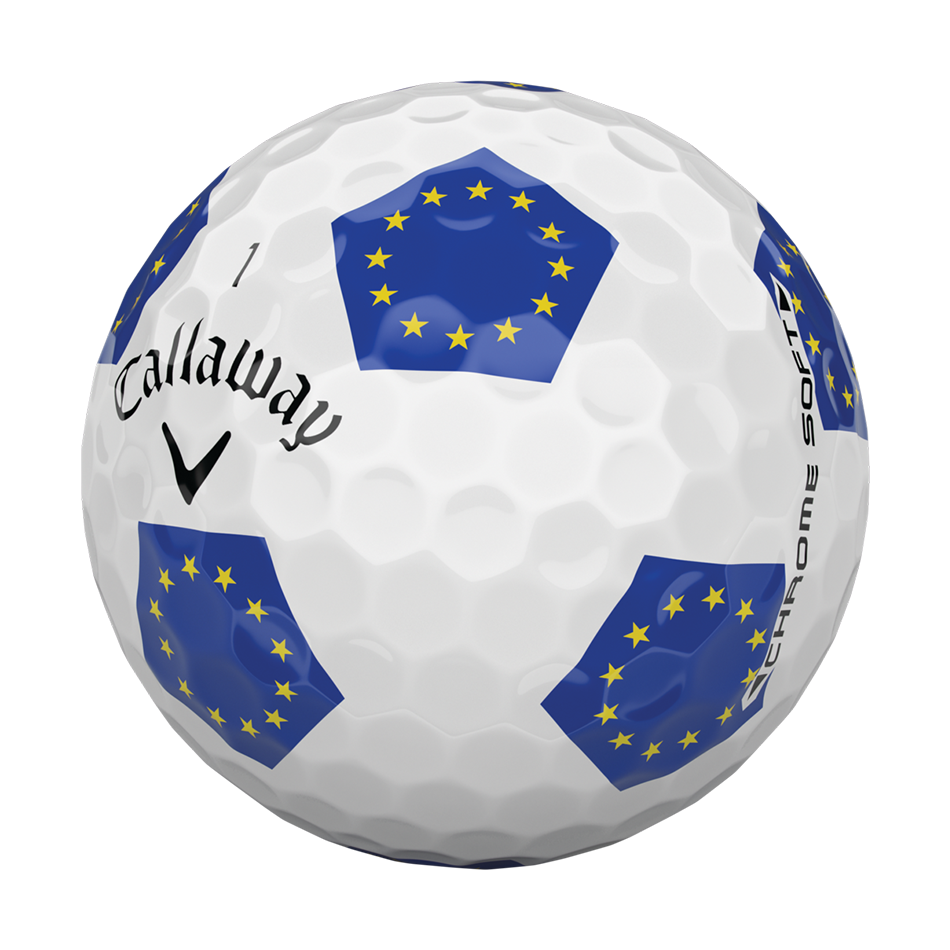 Chrome Soft European Truvis 18 Golf Balls - View 3