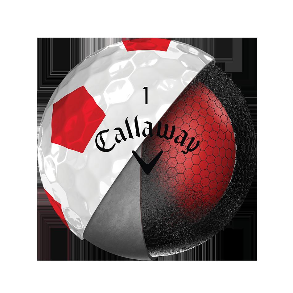 Chrome Soft Truvis Red 18 Golf Balls - View 3