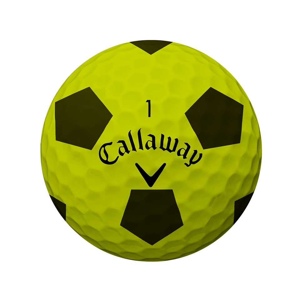 Chrome Soft Truvis Yellow 18 Golf Balls - View 2