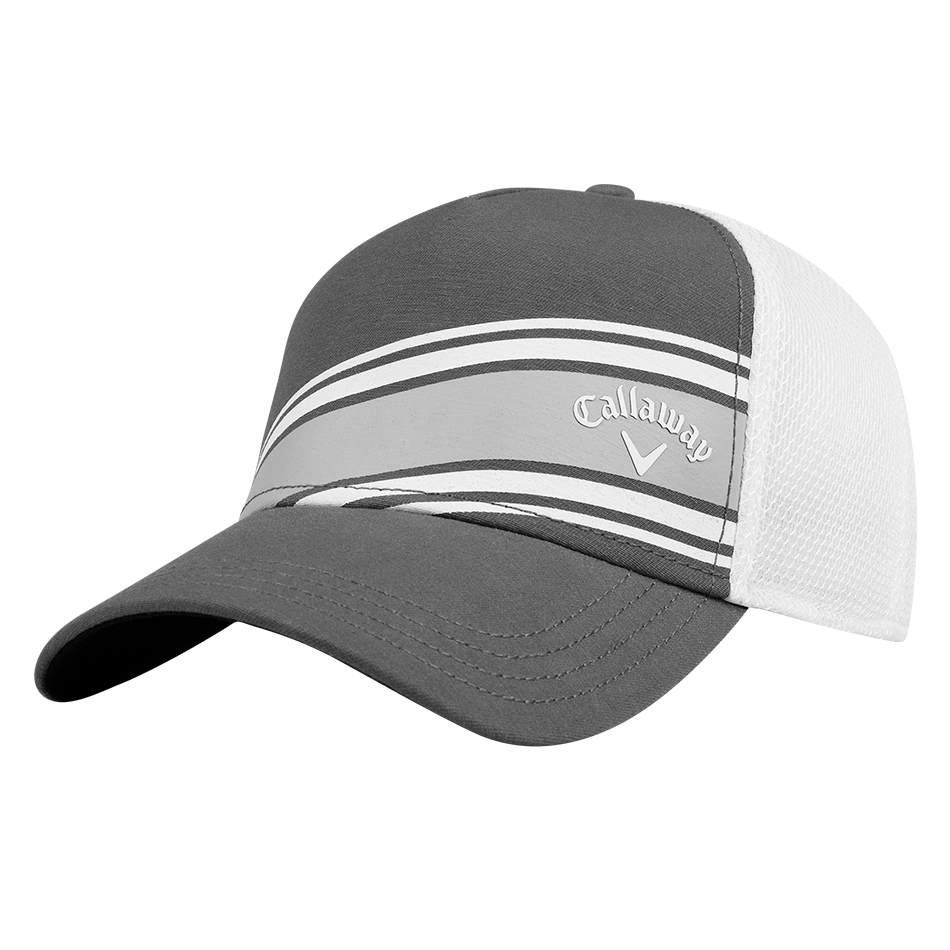 Stripe Mesh Cap - Featured