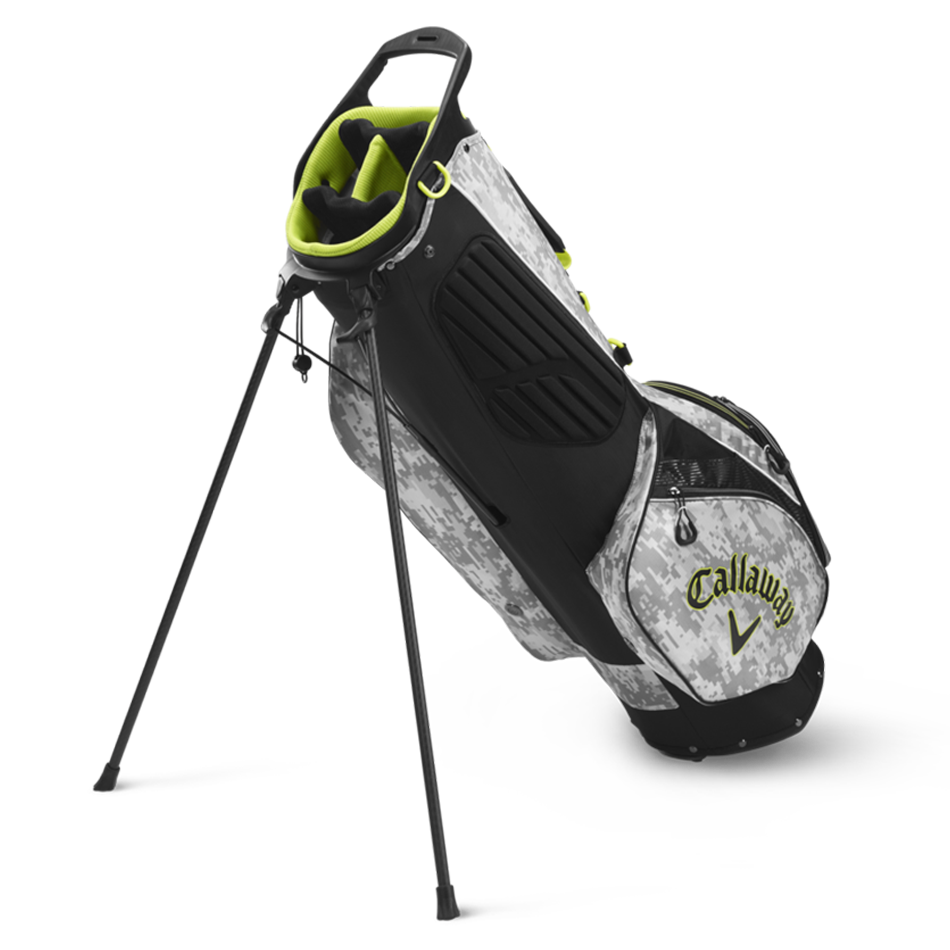 Hyperlite Zero Single Strap Logo Stand Bag - View 2