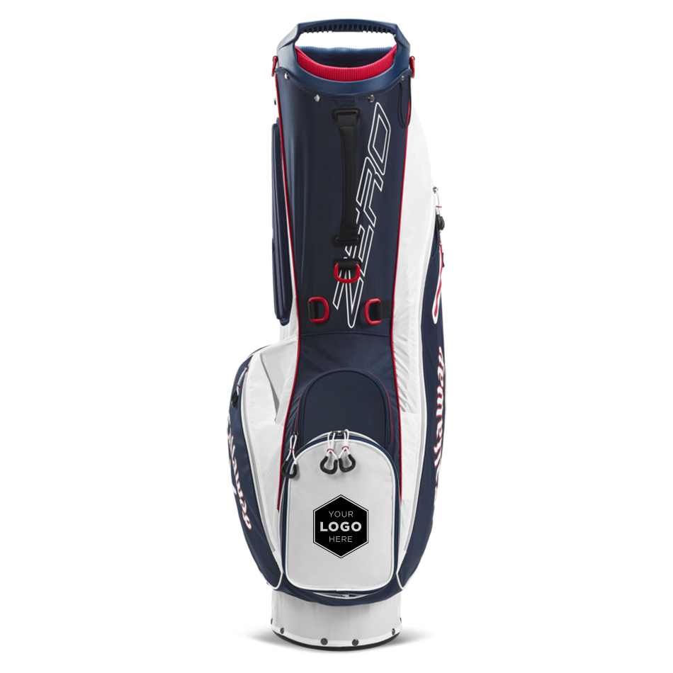 Hyperlite Zero Double Strap Logo Stand Bag - View 3