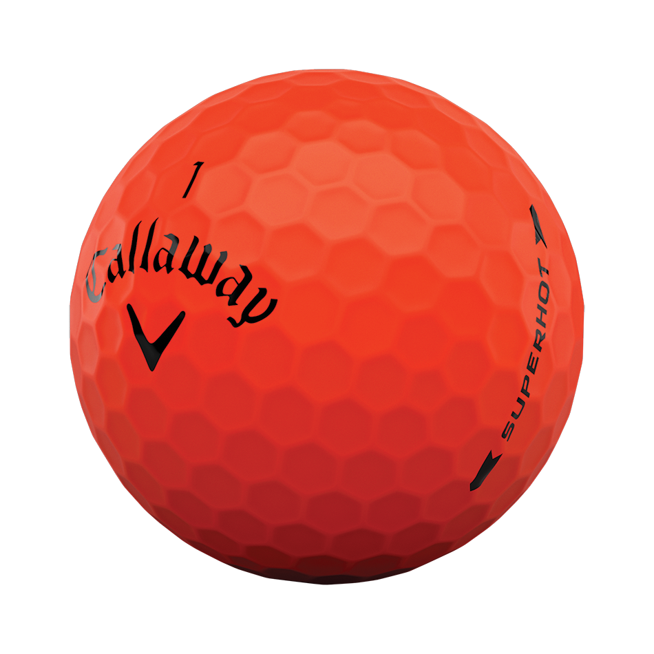 Superhot Bold Matte Red 15-Pack Golf Balls - View 4