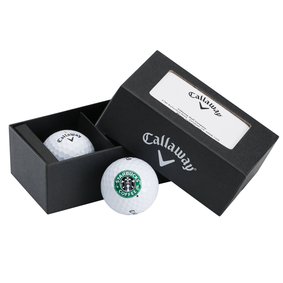 2-Ball Logo Business Card Box - View 1