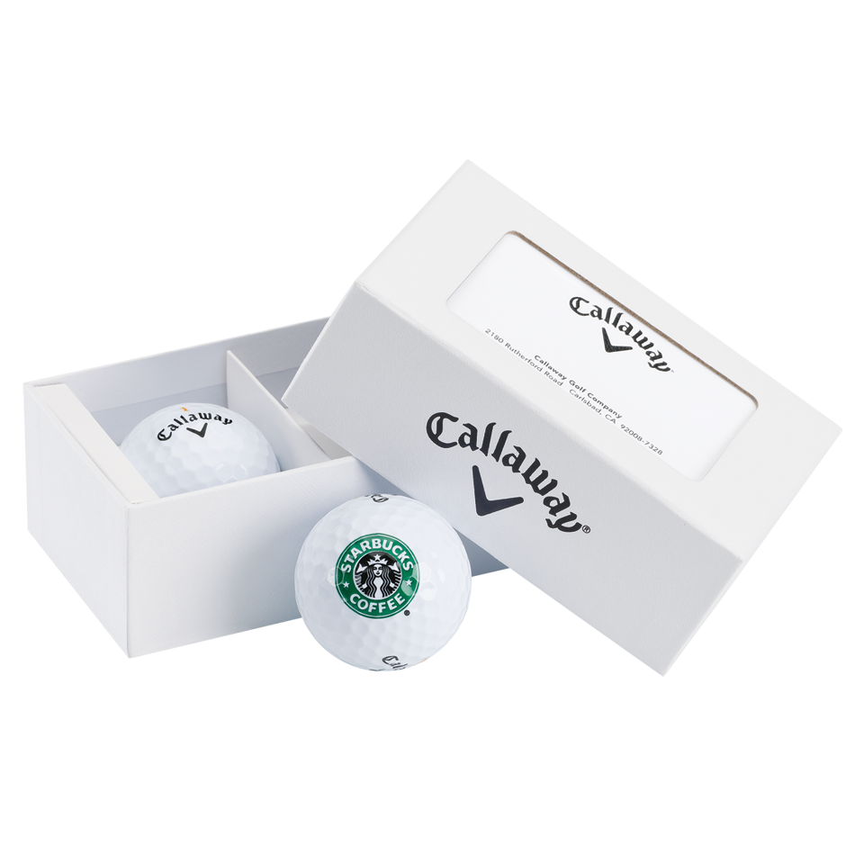 2-Ball Logo Business Card Box - Featured