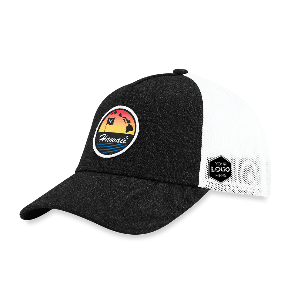Hawaii Trucker Logo Cap - Featured