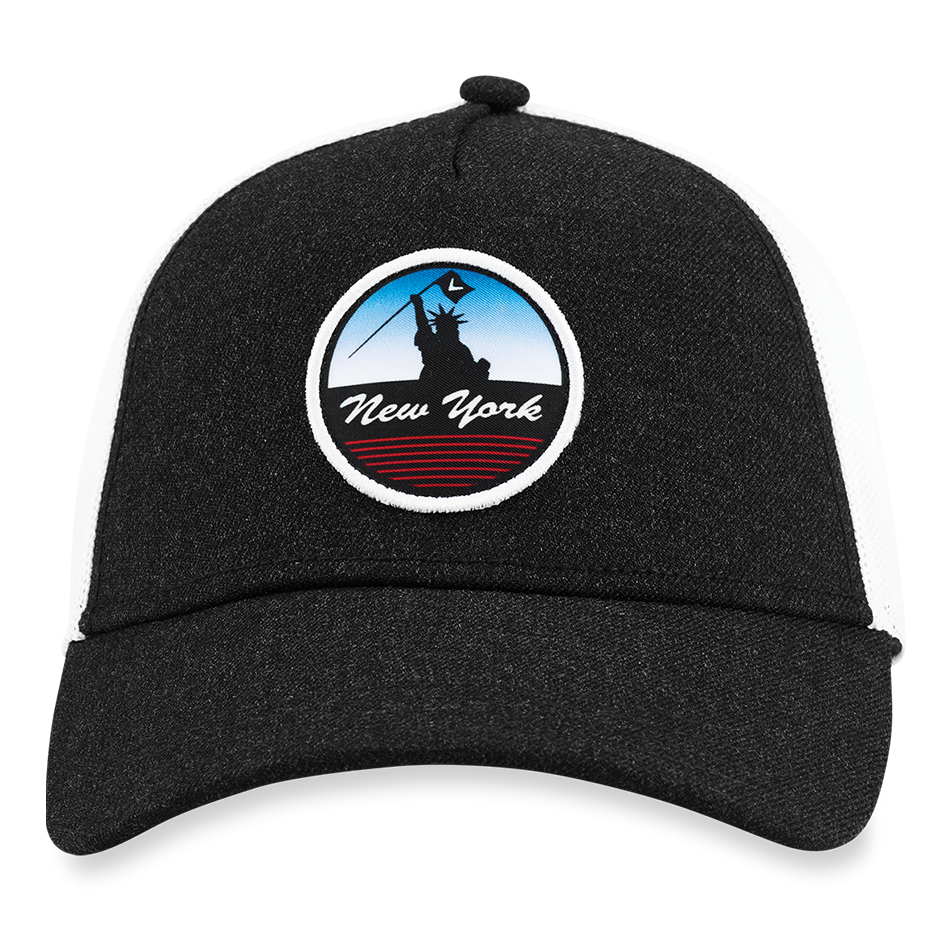New York Trucker Logo Cap - View 3