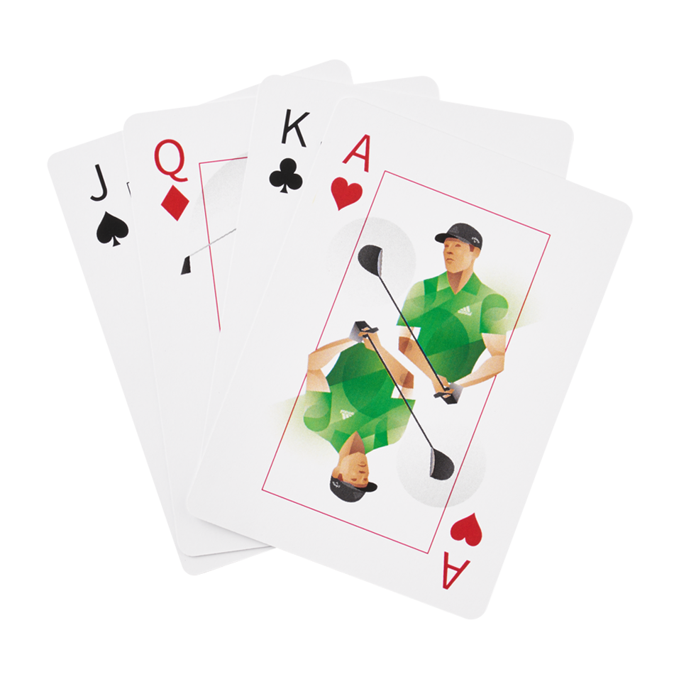 Chrome Soft Truvis Suits Playing Cards - View 3