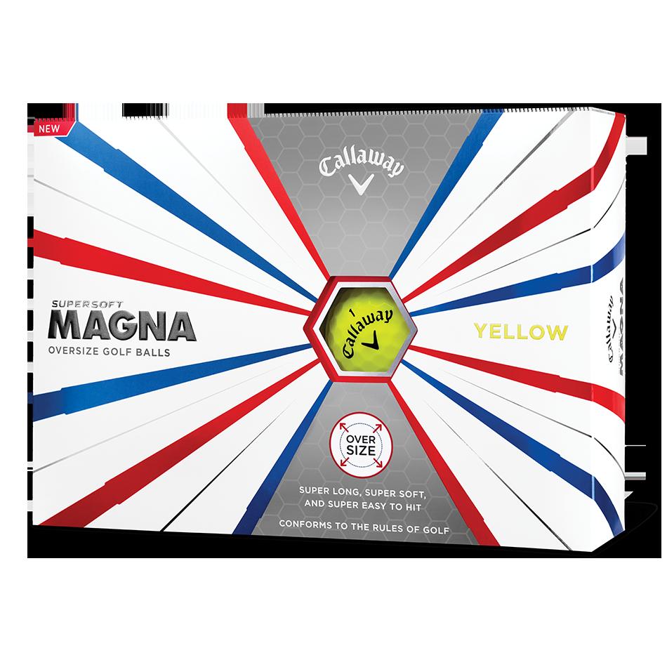 Supersoft Magna Yellow Logo Golf Balls - Featured