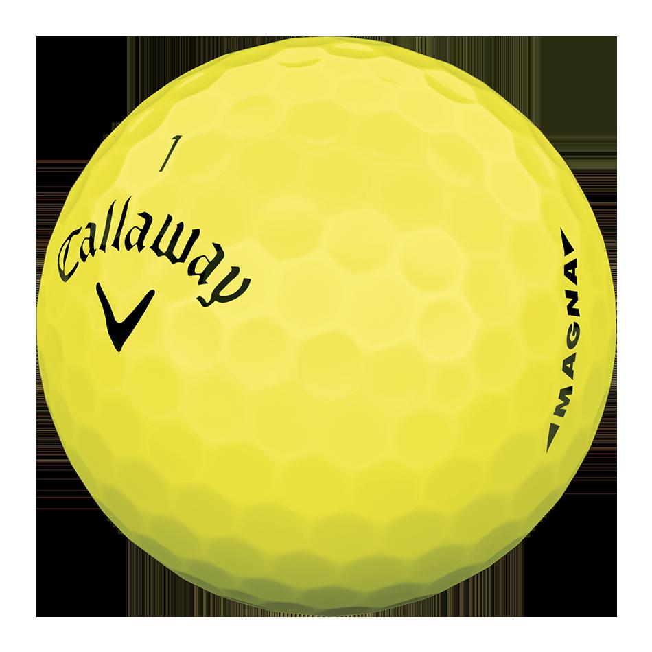 Supersoft Magna Yellow Logo Golf Balls - View 4