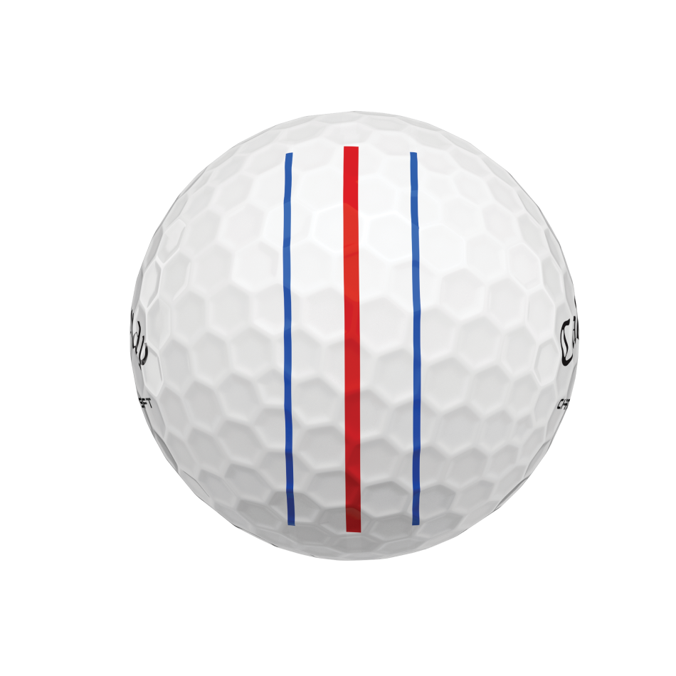 Chrome Soft Triple Track Logo Golf Balls - View 5