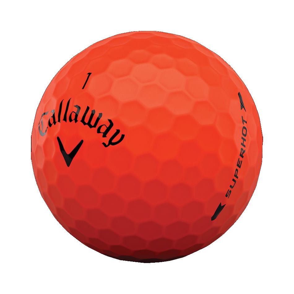 Superhot Bold Red 15-Pack Logo Golf Balls - View 4