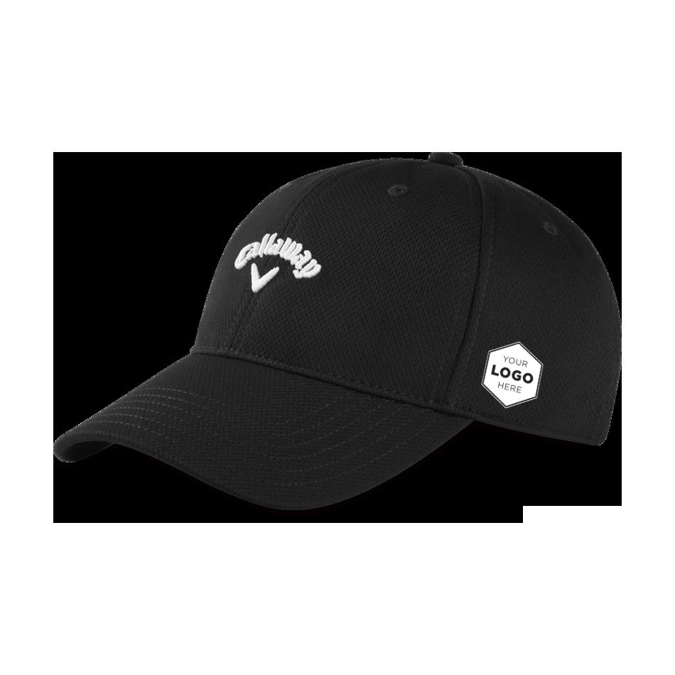 Stretch Fitted Logo Cap