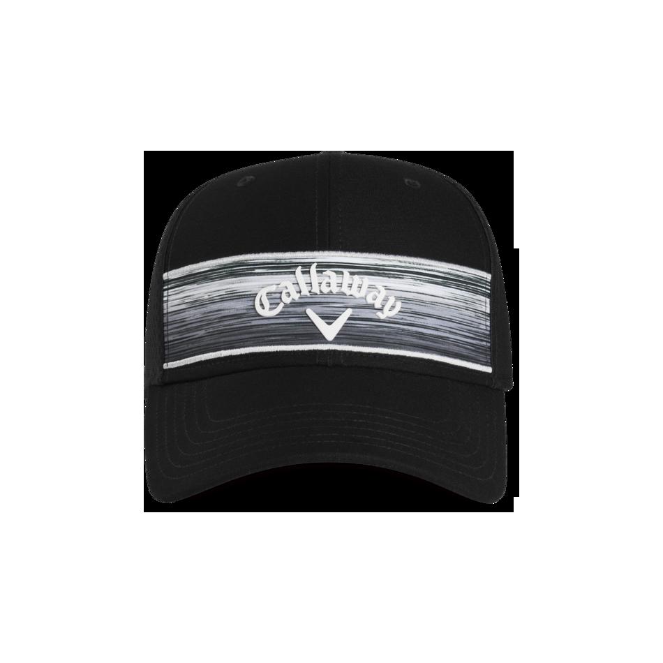 Stripe Mesh Logo Cap - View 3