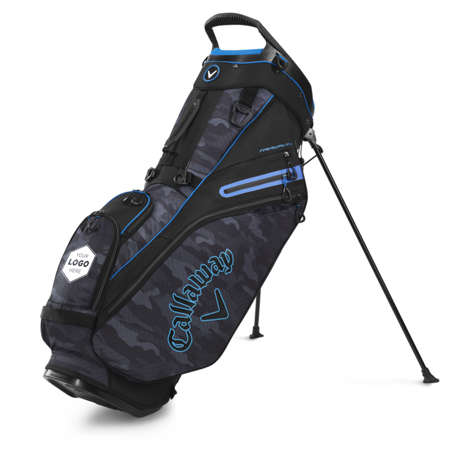 Fairway 14 Logo Stand Bag - Featured