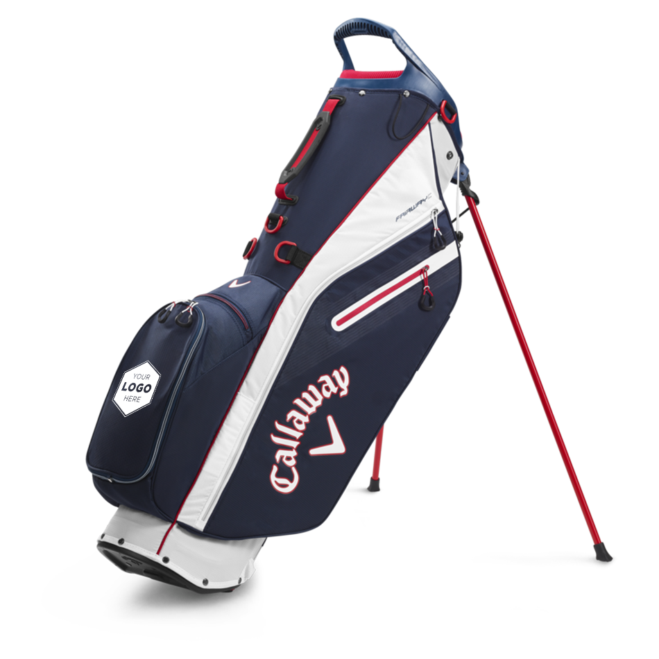 Fairway C Single Strap Logo Stand Bag - View 1