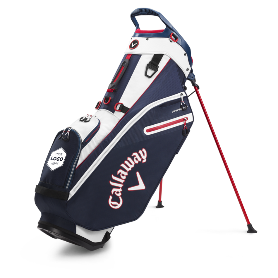 Fairway Single Strap Stand Logo Bag - Featured
