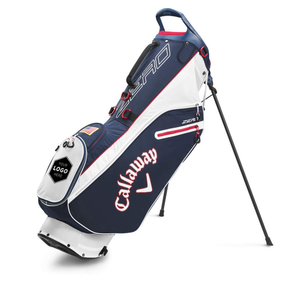 Hyperlite Zero Double Strap Logo Stand Bag - View 1
