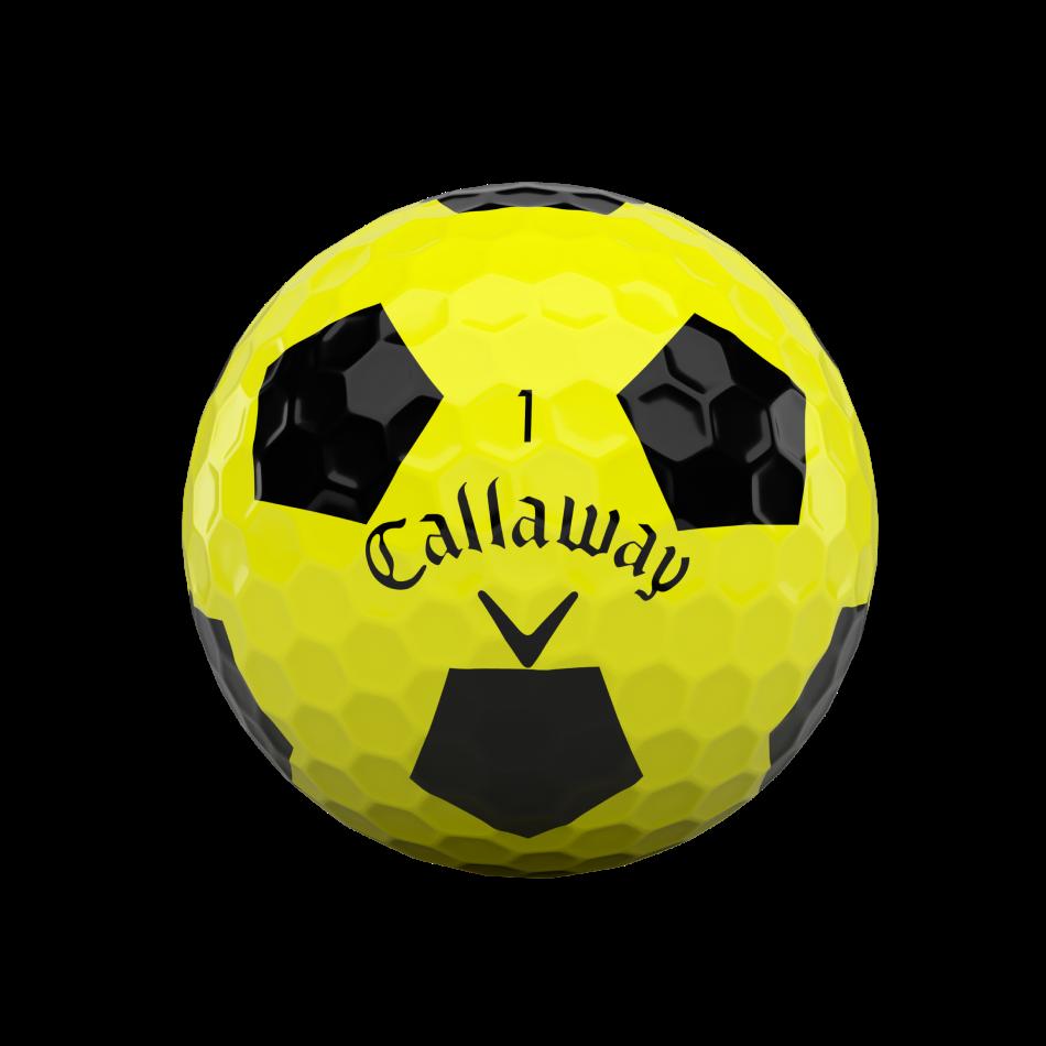 Chrome Soft Truvis Yellow Golf Balls - View 3