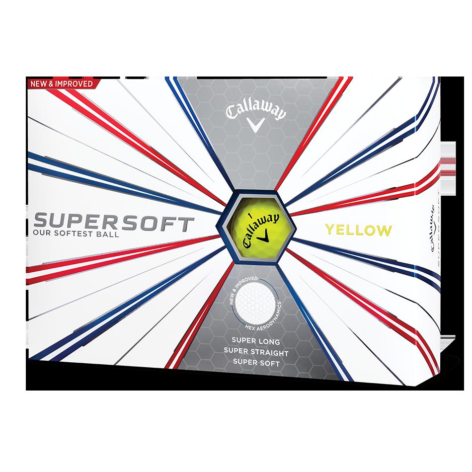 Supersoft Yellow Logo Golf Balls - Featured