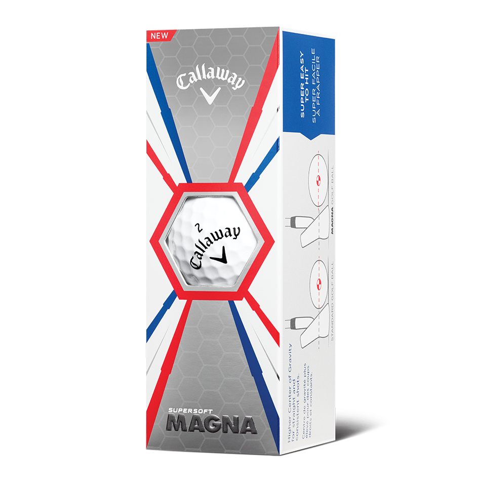 Supersoft Magna Logo Golf Balls - View 2