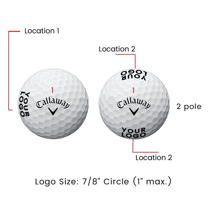 Supersoft Magna Logo Golf Balls - View 3