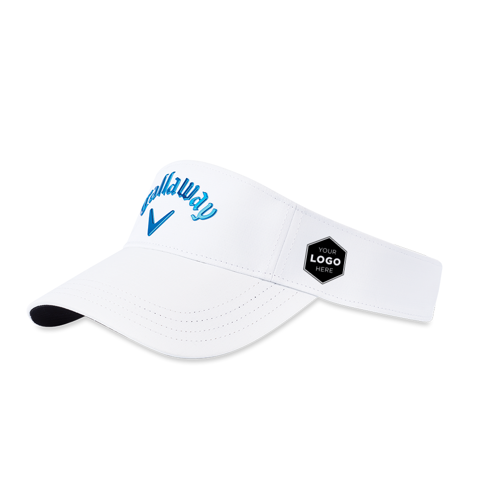 Liquid Metal Logo Visor - Featured