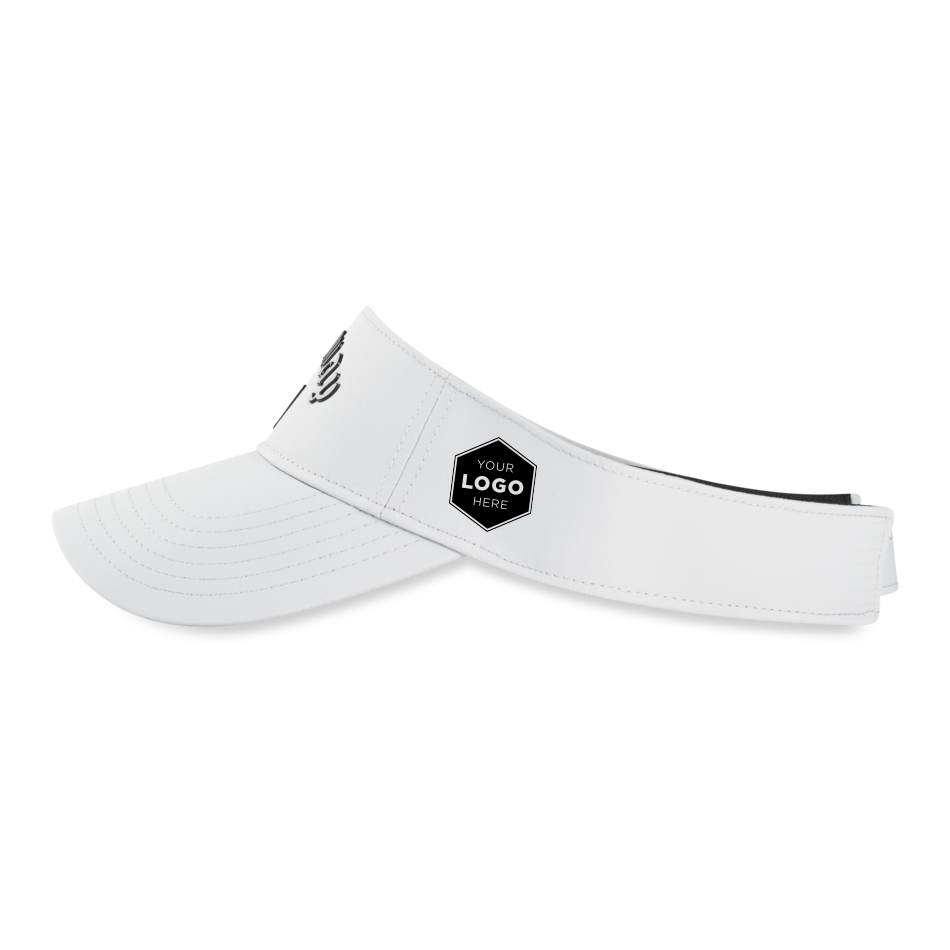 Liquid Metal Logo Visor - View 5