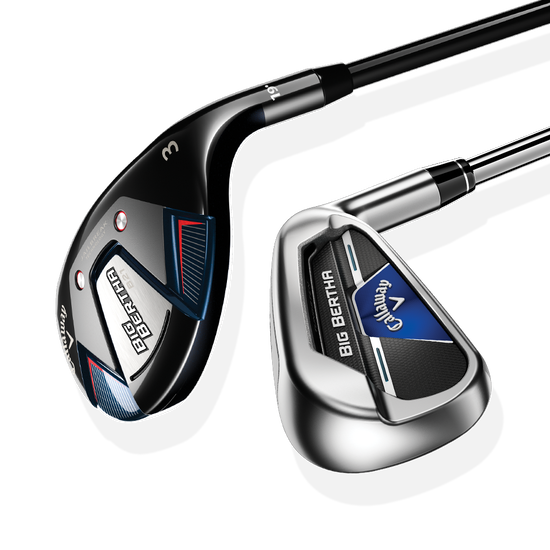 Big Bertha B21 Irons/Hybrids Set