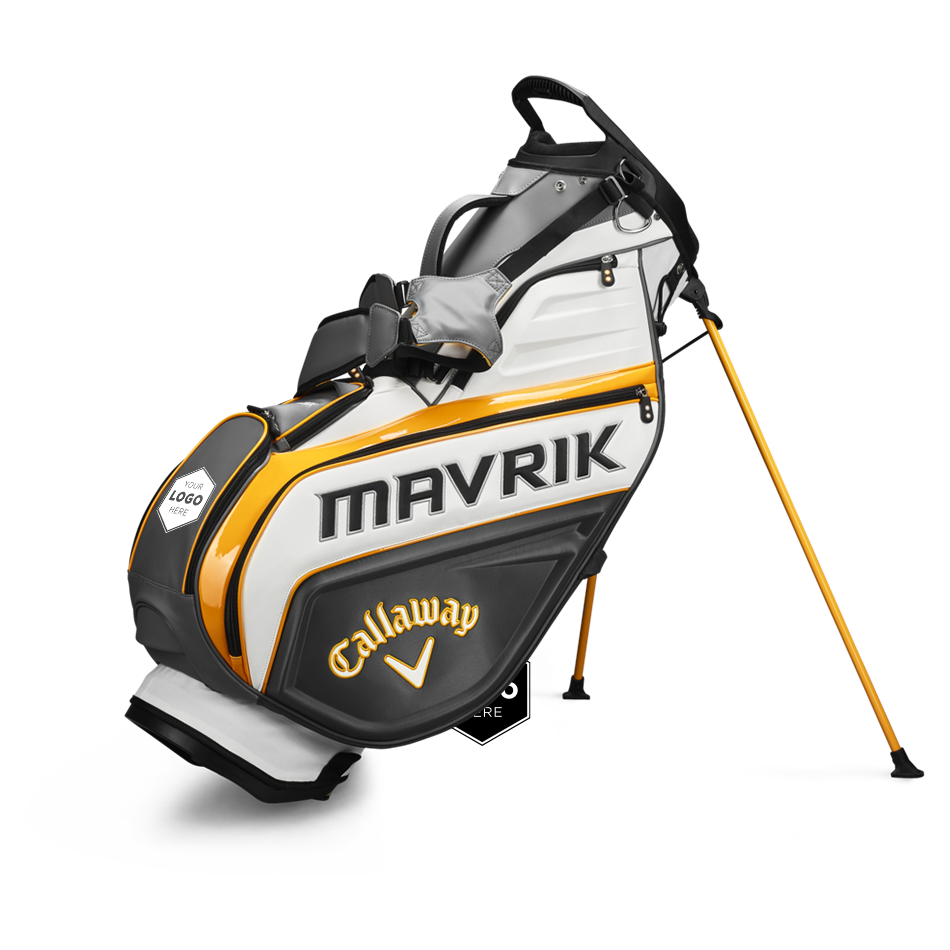 MAVRIK Staff Double Strap Logo Stand Bag - Featured
