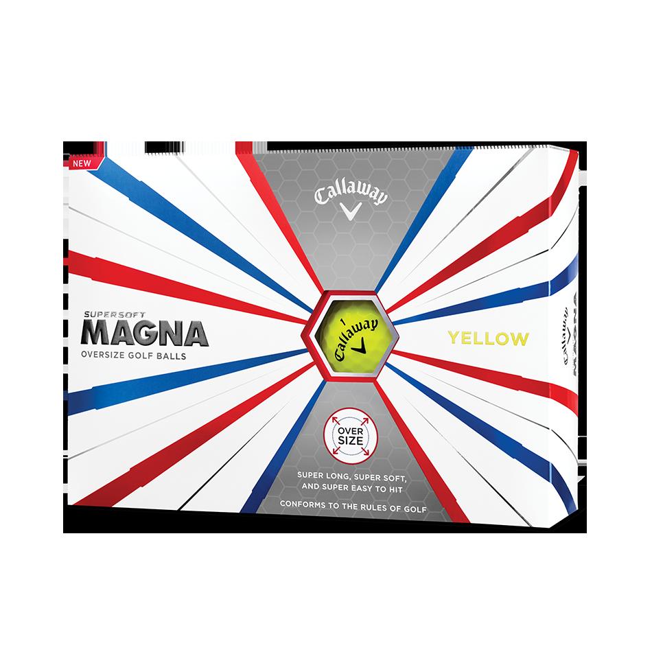 Callaway Supersoft Magna Yellow Golf Balls