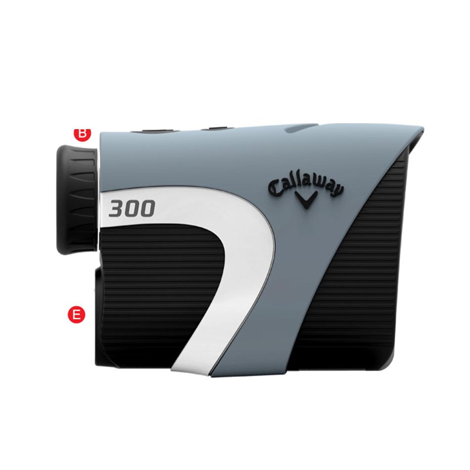 Callaway 300 Laser Rangefinder - View 2