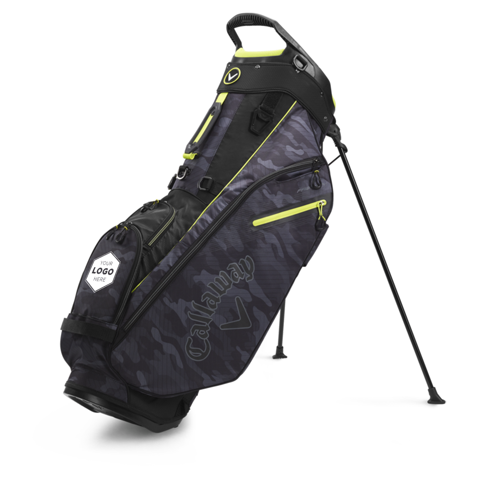 Fairway Single Strap Stand Logo Bag - View 1