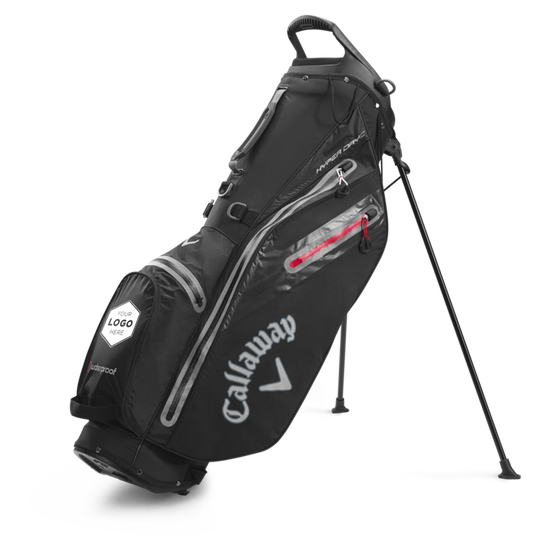 Hyper Dry C Double Strap Logo Stand Bag