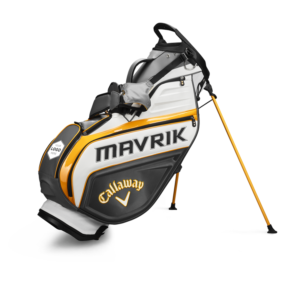 MAVRIK Staff Single Strap Logo Stand Bag - Featured