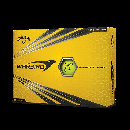 Warbird Yellow 2017 Golf Balls