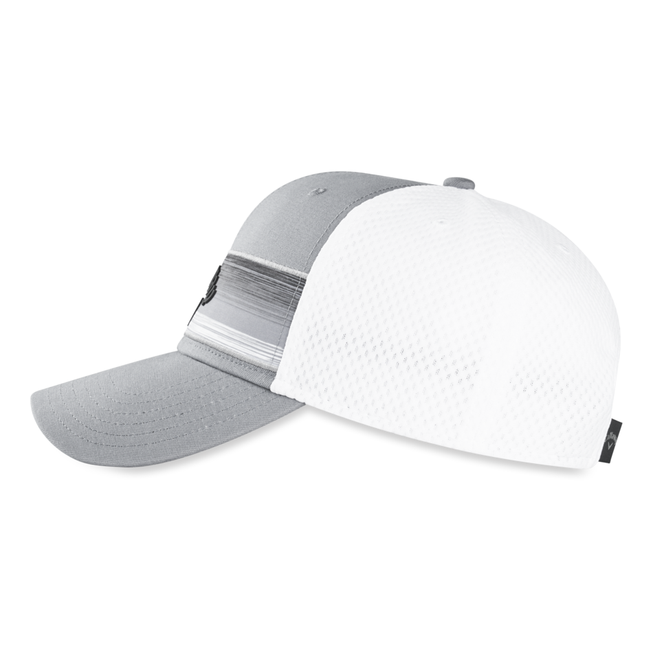 Stripe Mesh Adjustable Cap - View 3