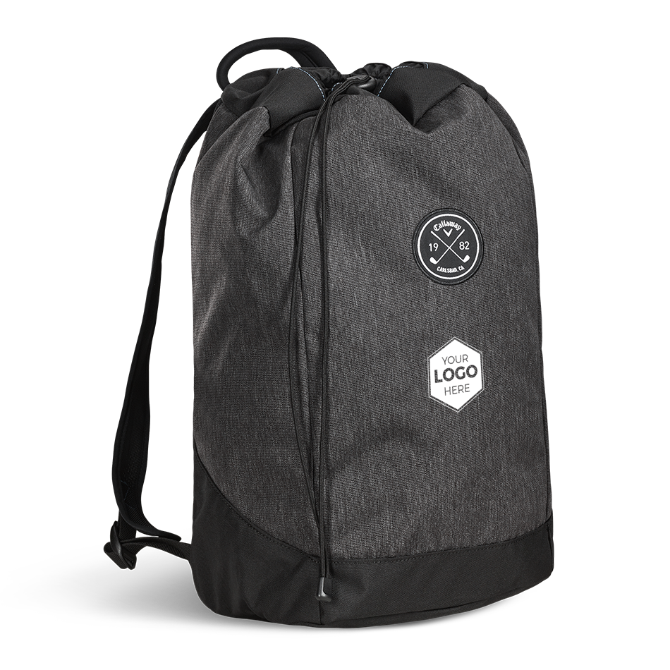 Clubhouse Logo Drawstring Backpack - Featured