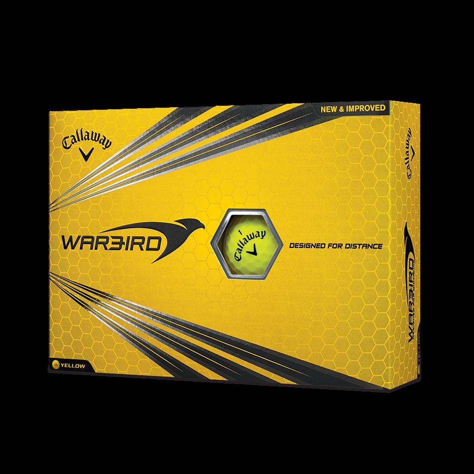 Warbird Yellow 2017 Golf Balls - Featured