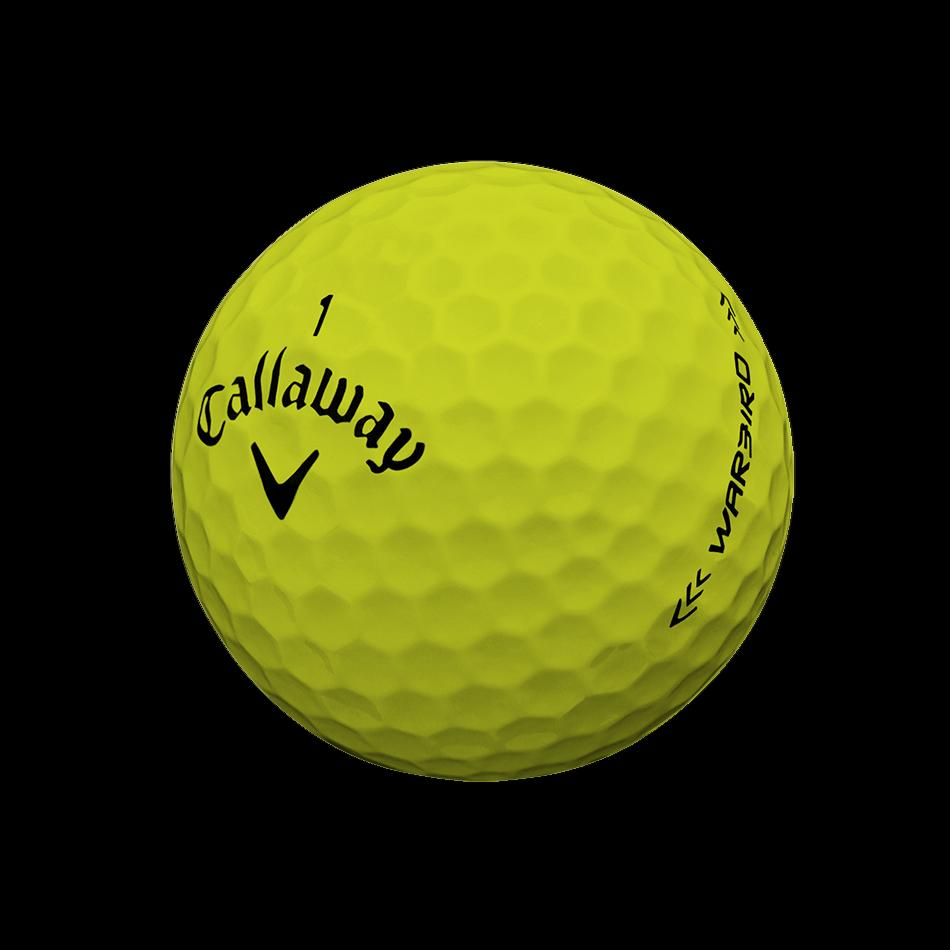 Warbird Yellow 2017 Golf Balls - View 3